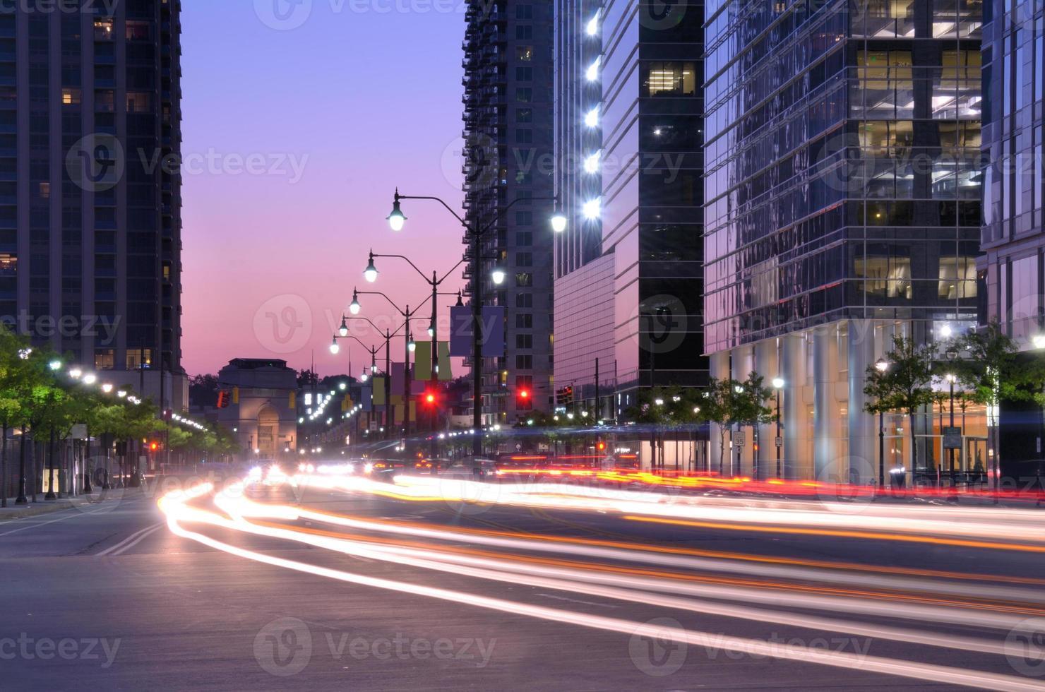 escena de la calle atlanta foto