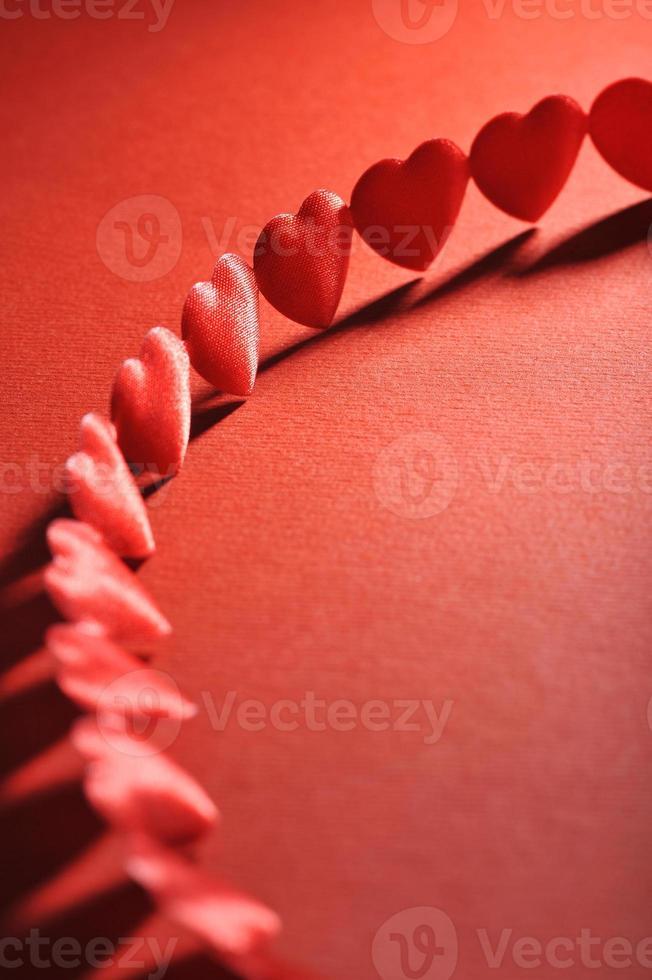 corazones textiles foto