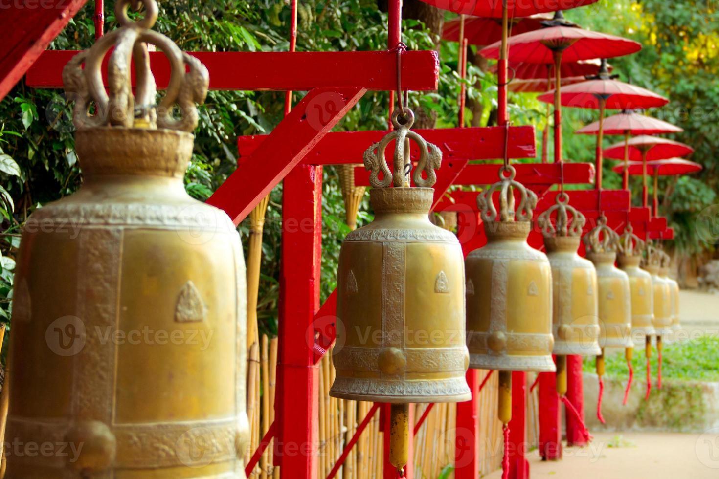 Bells in Thailand photo