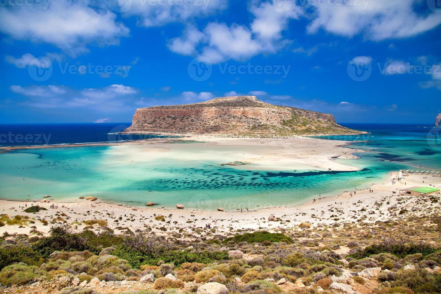 the Balos lagoon photo
