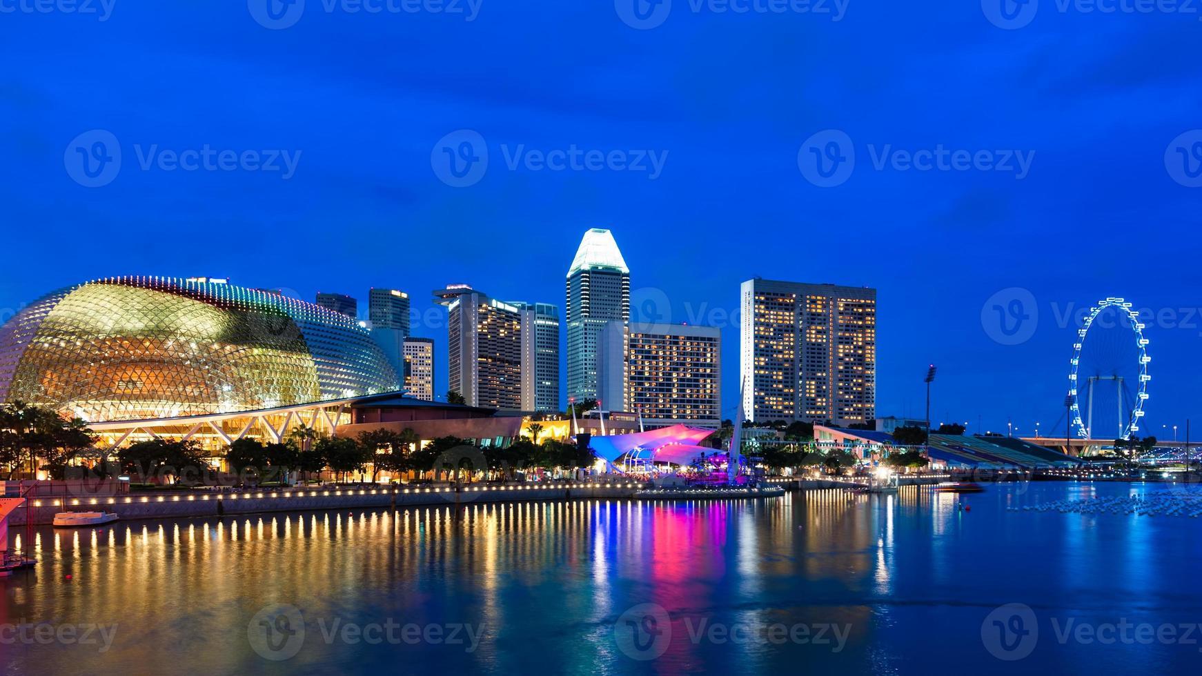 Explanada de Singapur foto