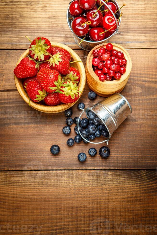 Fresh summer berries photo