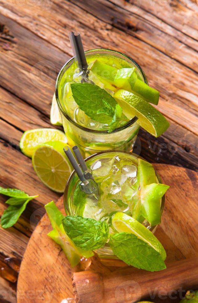 bebida de verano foto