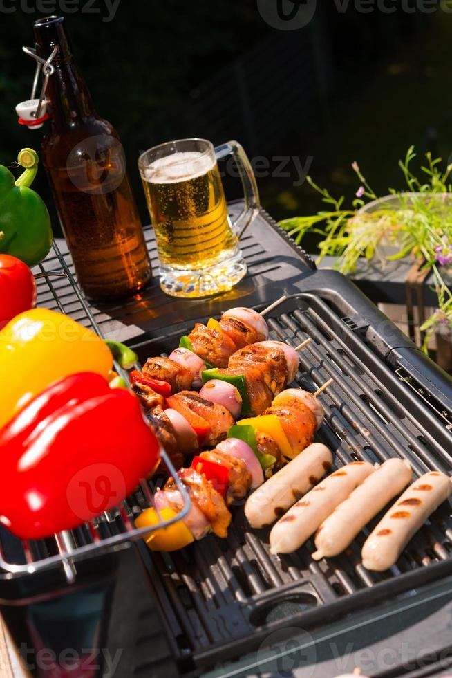 summer grill party photo