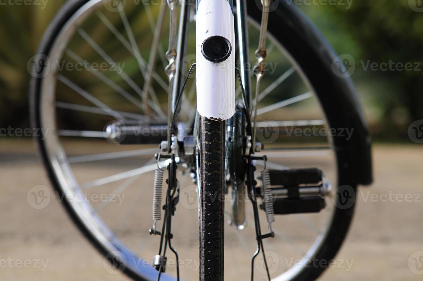 ruedas de bicicleta foto