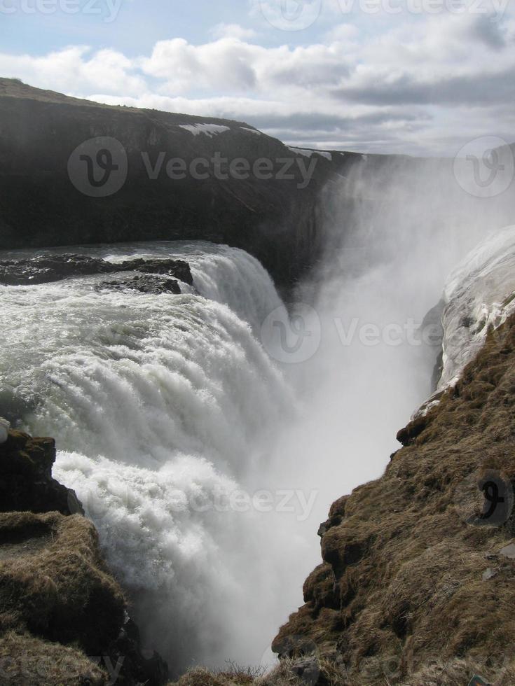 cascada de islandia foto