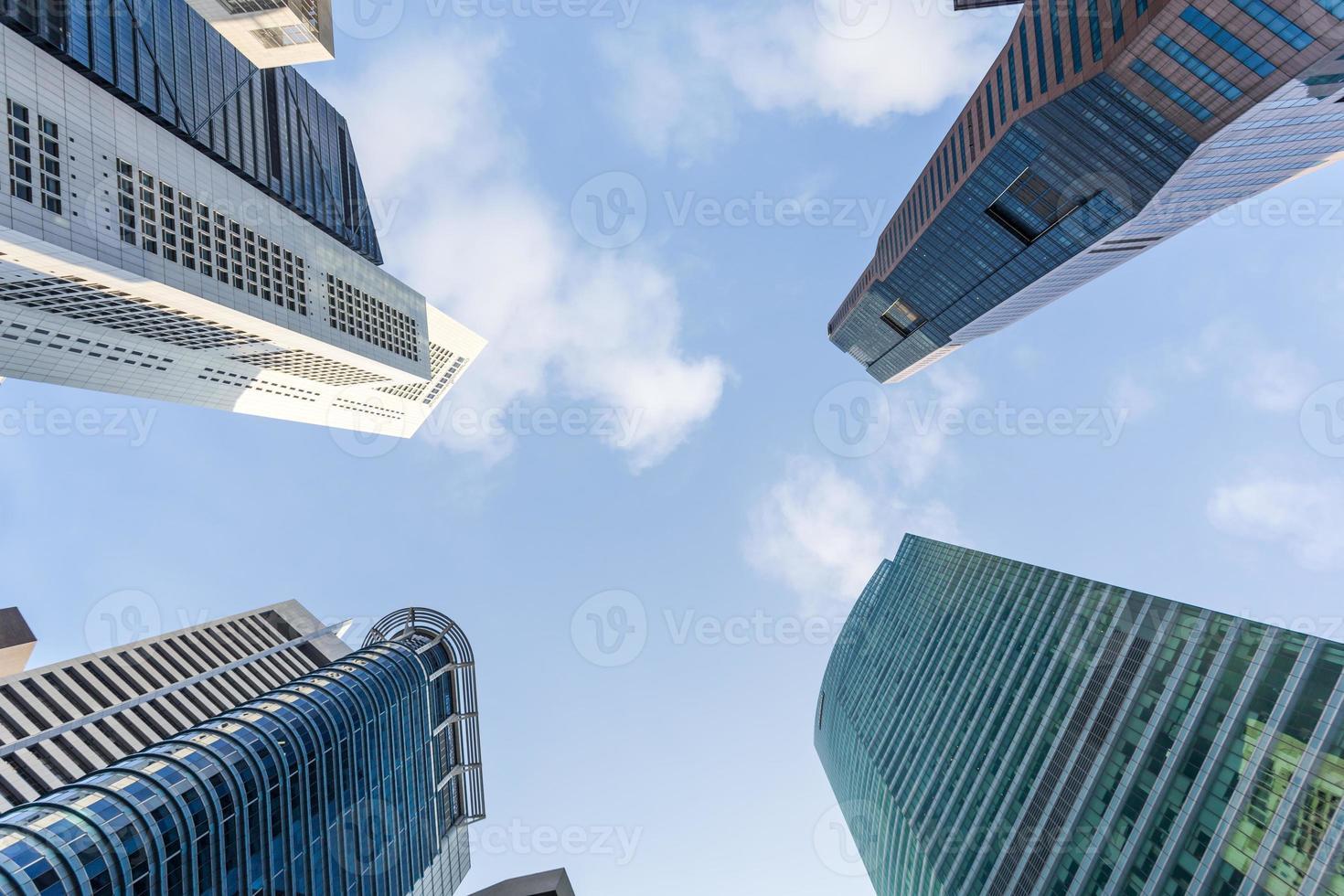 Singapore skyscraper photo
