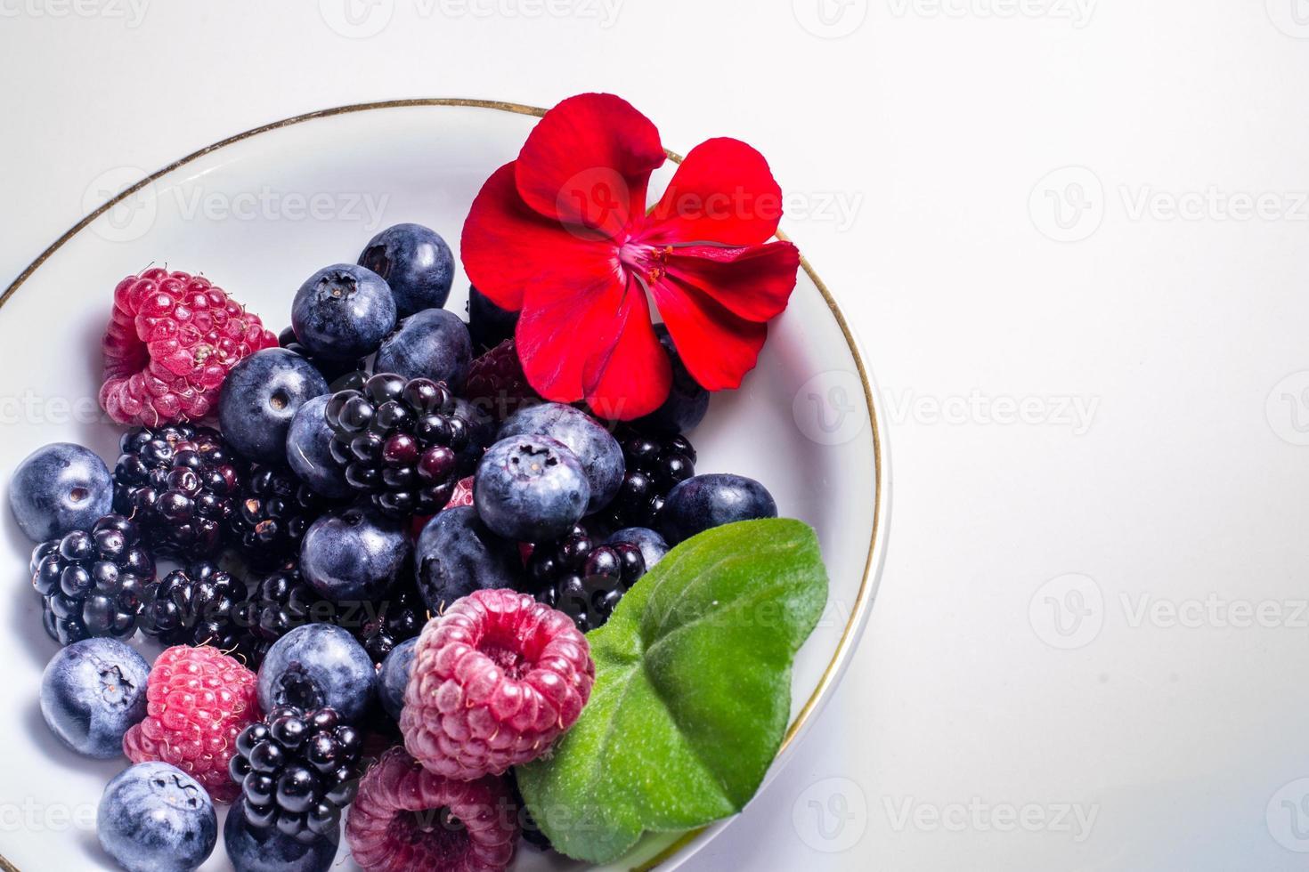 mezcla de frutas foto