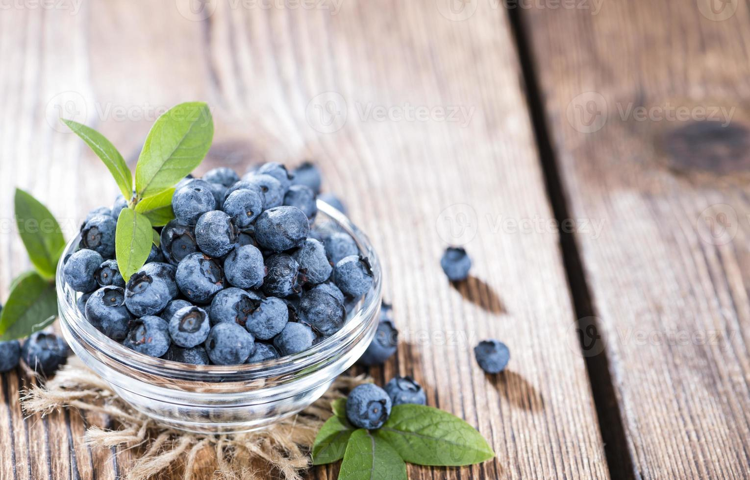 Blueberries in a bowl photo