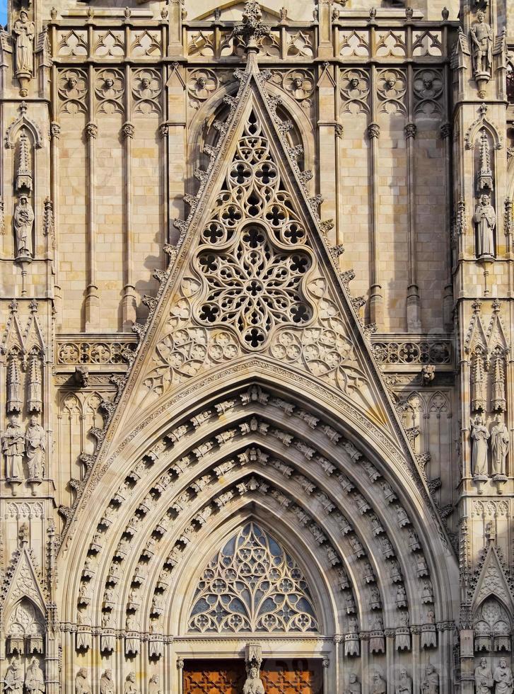 catedral en barcelona foto