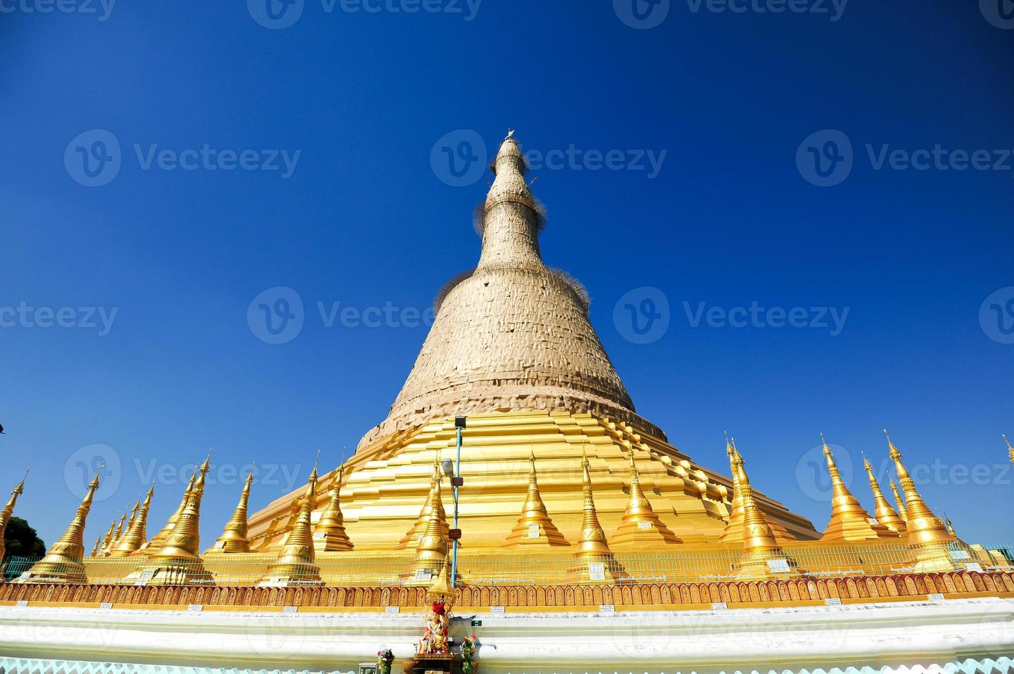 Shwedagon Paya in Yangon, Burma photo