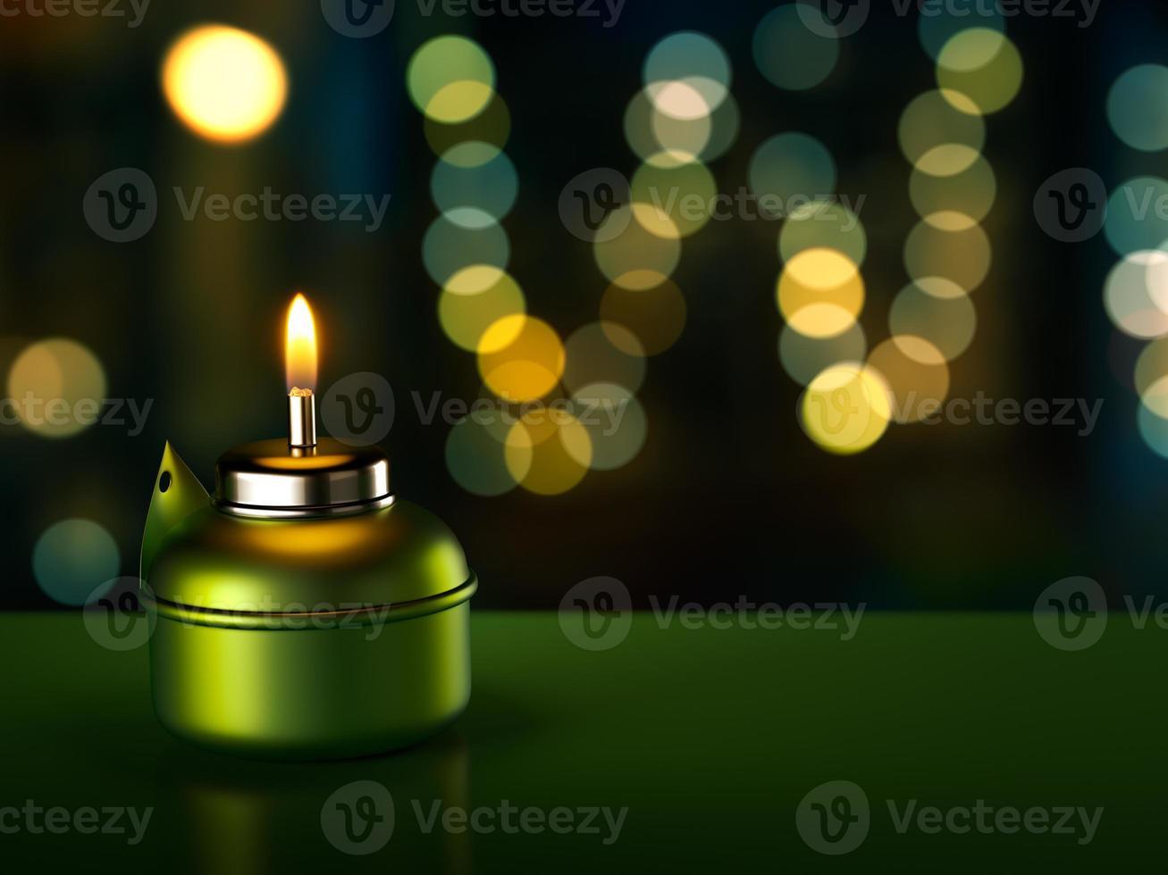 Ramadan Oil Lamp photo