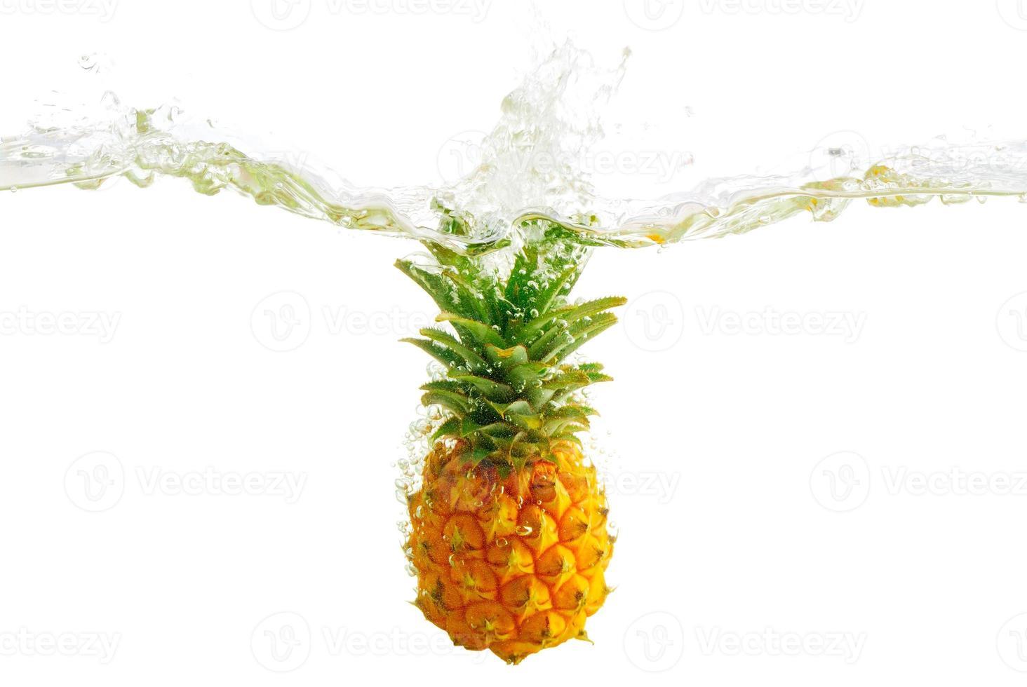 Pineapple splash photo