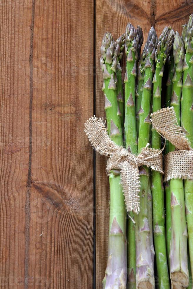 organic asparagus photo