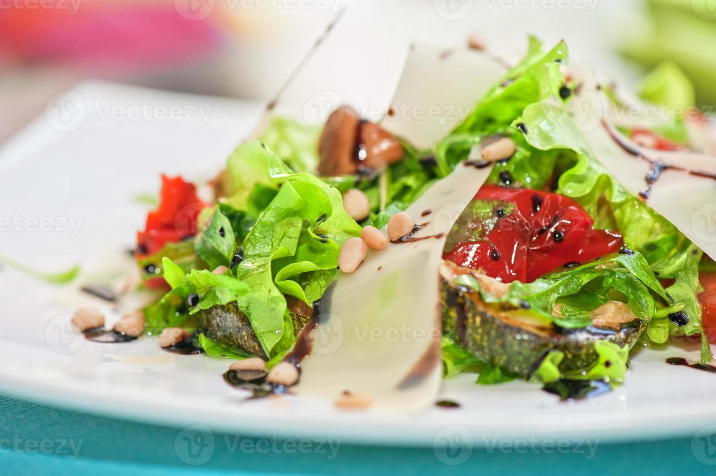 grilled vegetables salad photo