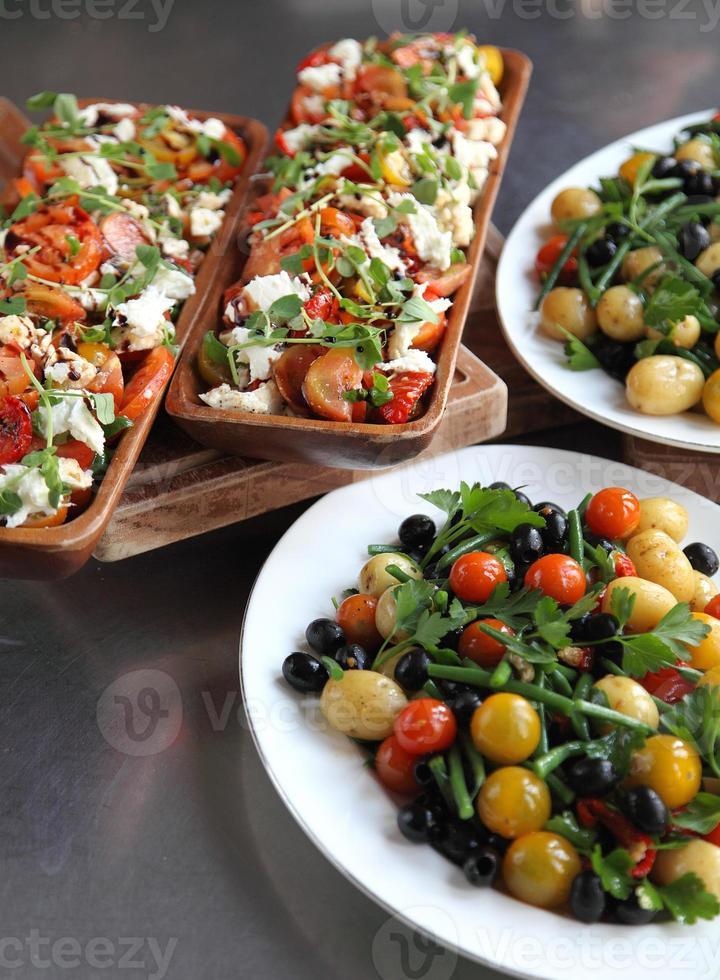 Base salad nicoise photo