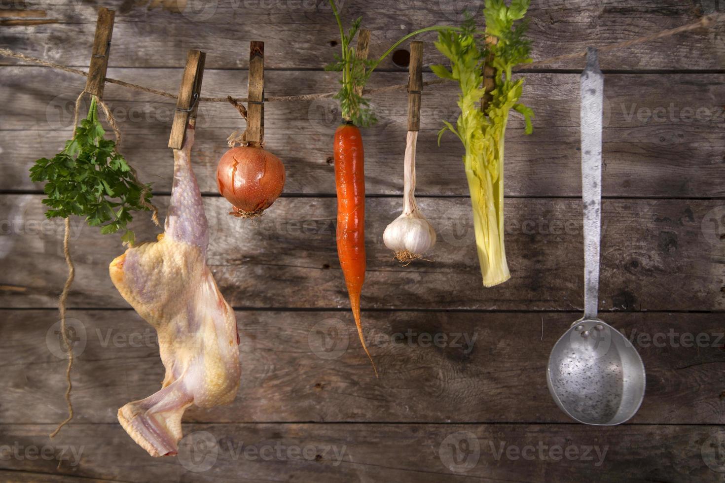 Chicken soup photo
