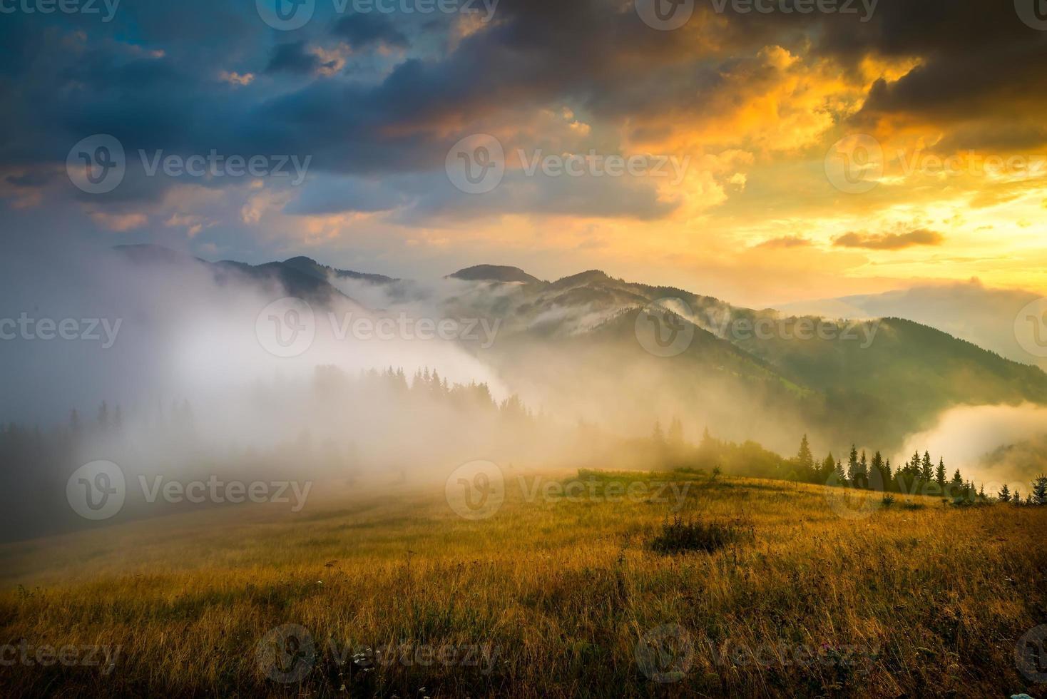 Amazing mountain landscape photo