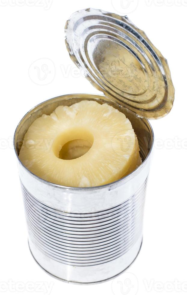 Canned Pineapples in a tin photo