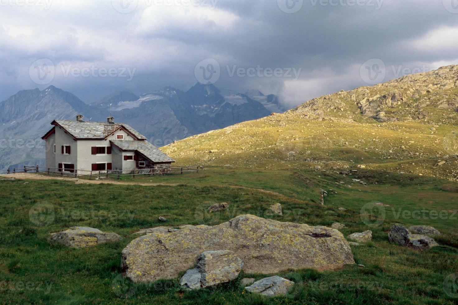 casa de montaña foto