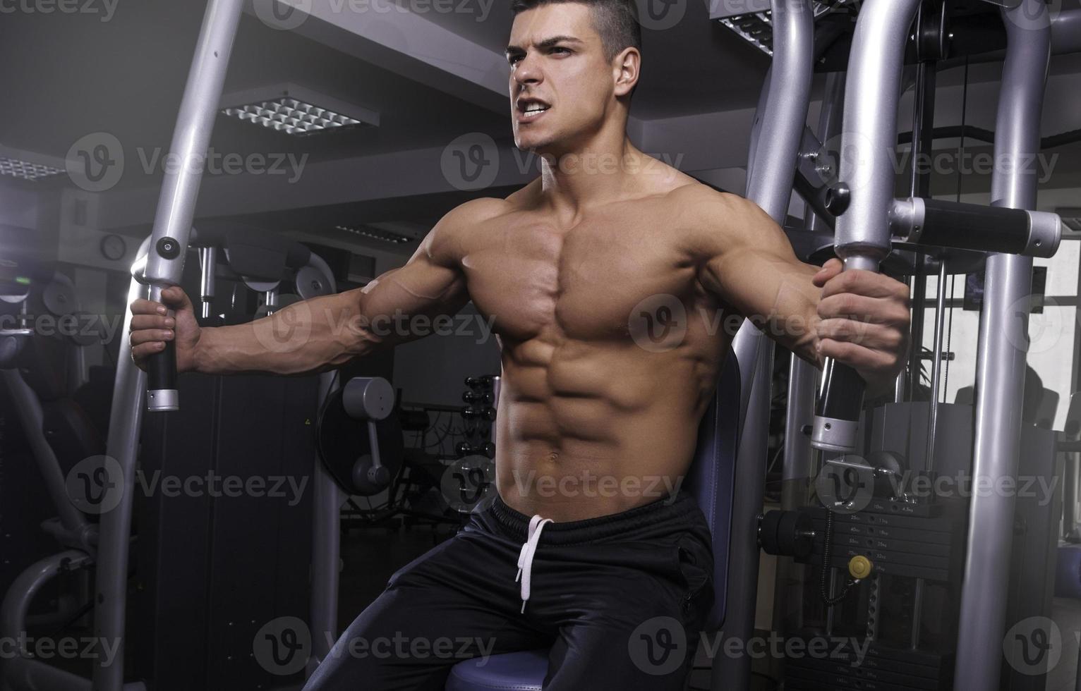 hombre fitness foto