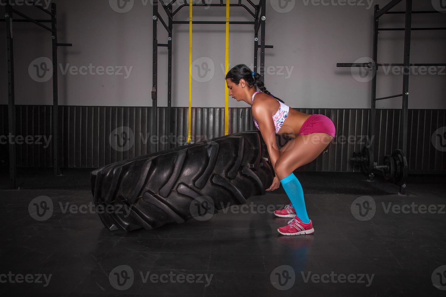 Flipping Tire photo