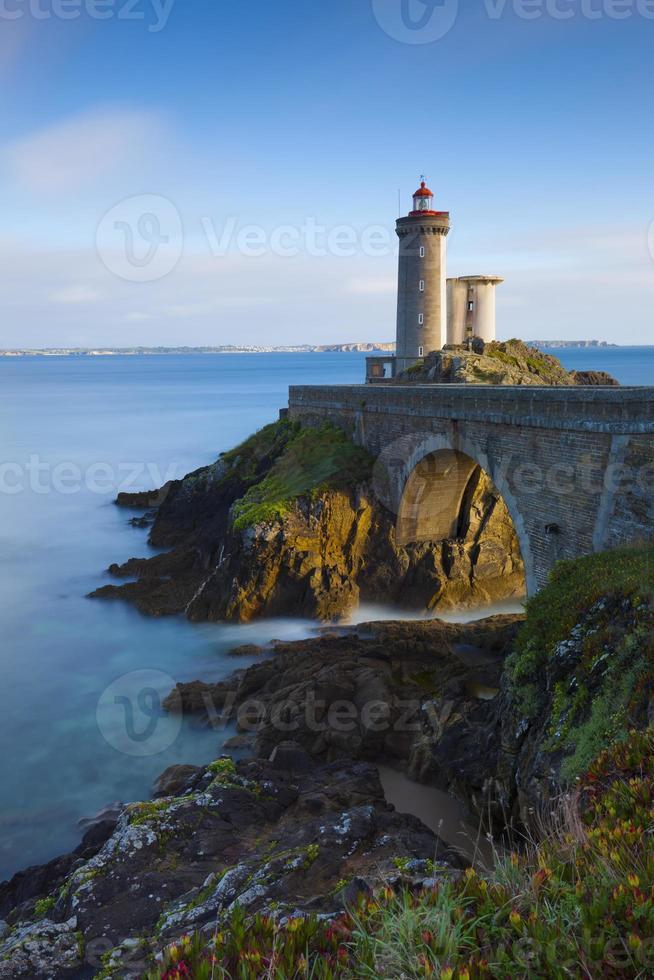 Leuchtturm Petit Minou am Abend photo
