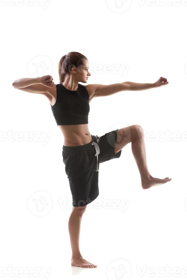 Yoga practice photo