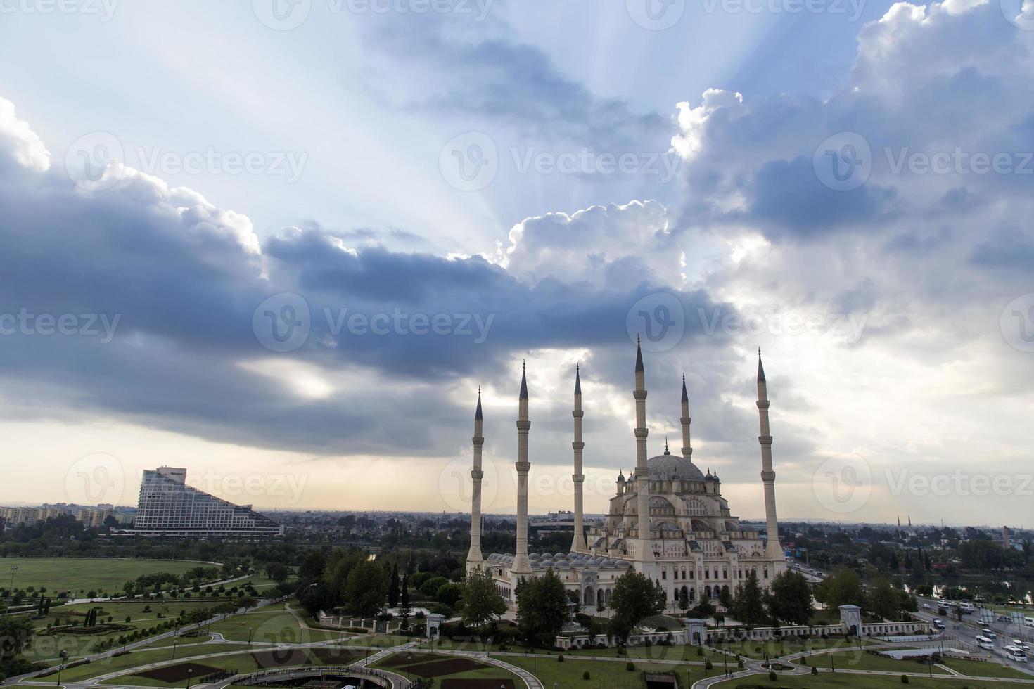 central mosque in Adana Turkey photo