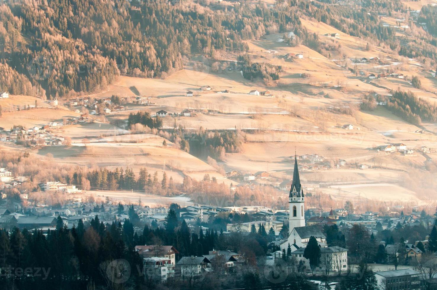 invierno lienz foto