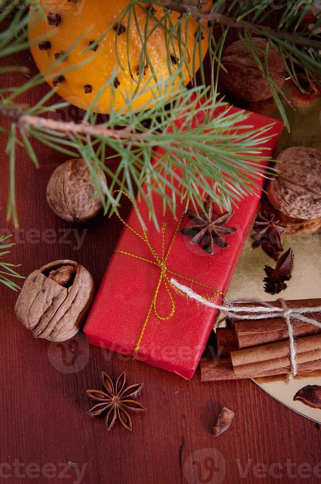 regalo de invierno foto
