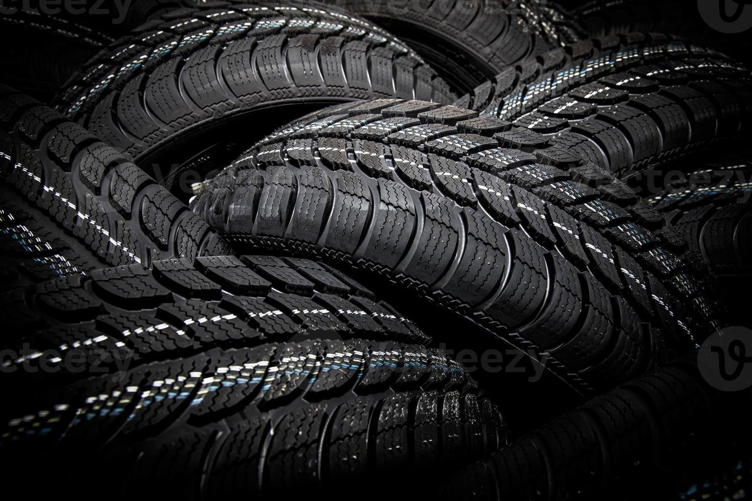 pneus d'hiver photo