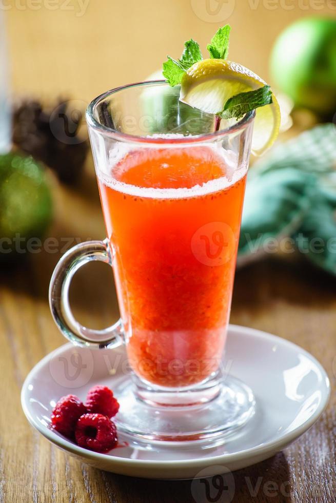 bebida de invierno foto