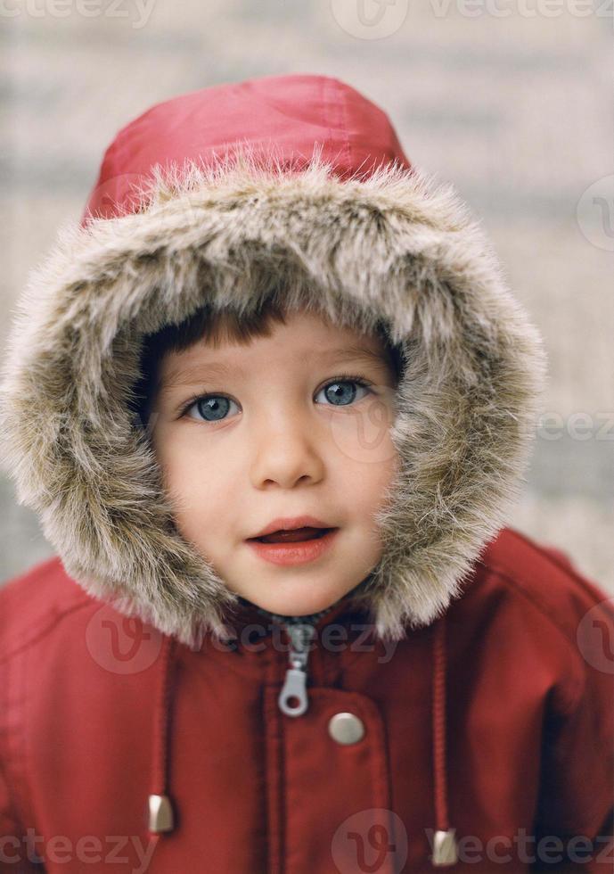chica de invierno foto