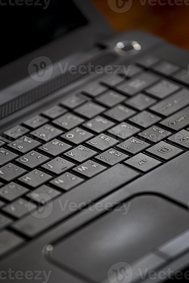 computadora keybpard para tu trabajo foto