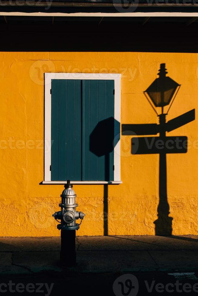 arquitectura del barrio francés de nueva orleans foto