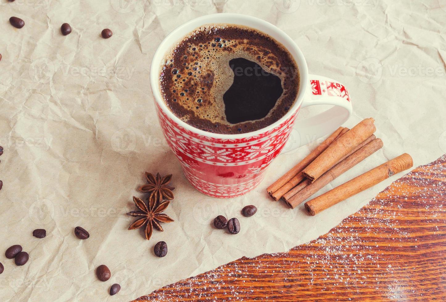 bebida quente de inverno foto