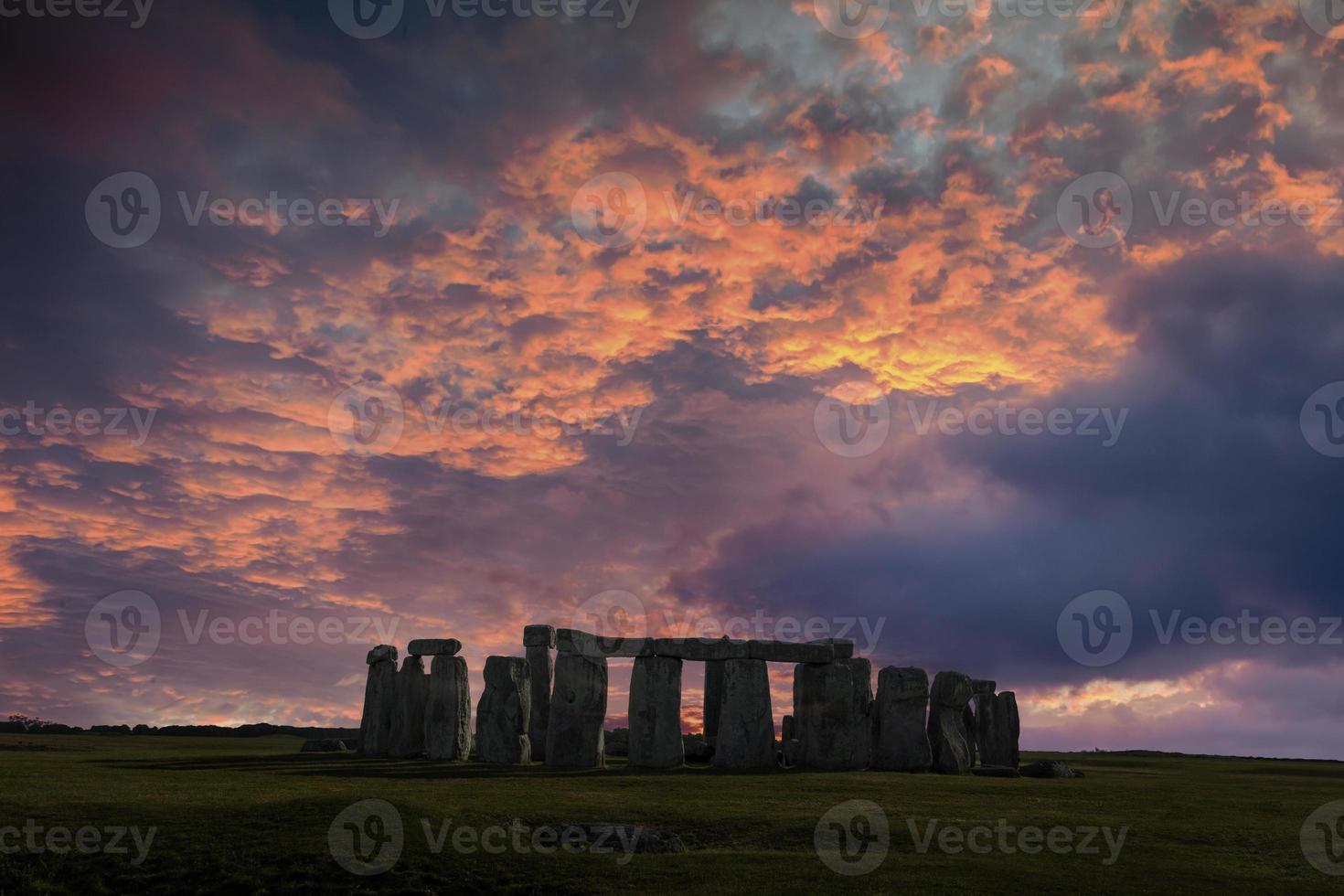 solsticio de invierno de stonehenge foto