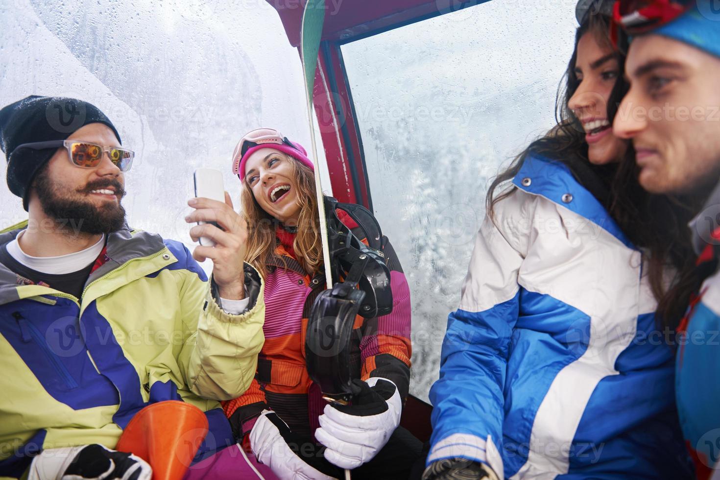 grandes lembranças das férias de inverno foto
