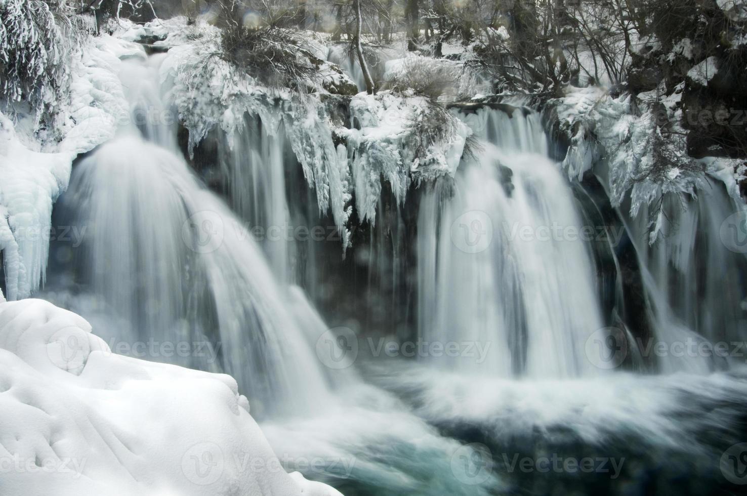 cascata d'inverno foto
