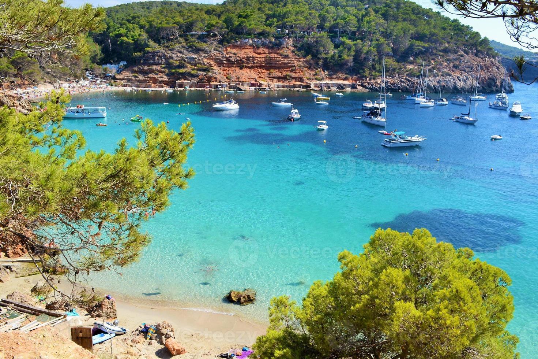 mar mediterraneo, islas baleares foto