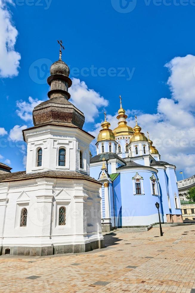 el st. El monasterio de Michael, Kiev, Ucrania. foto
