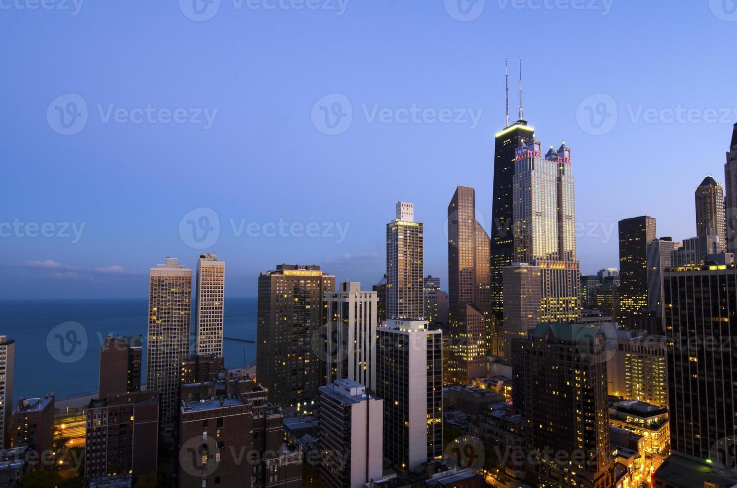 City Lights At Dusk photo