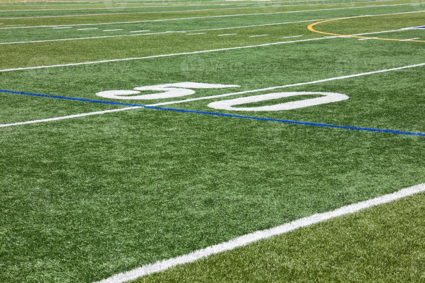 Artificial Turf & Fifty Yard Line photo