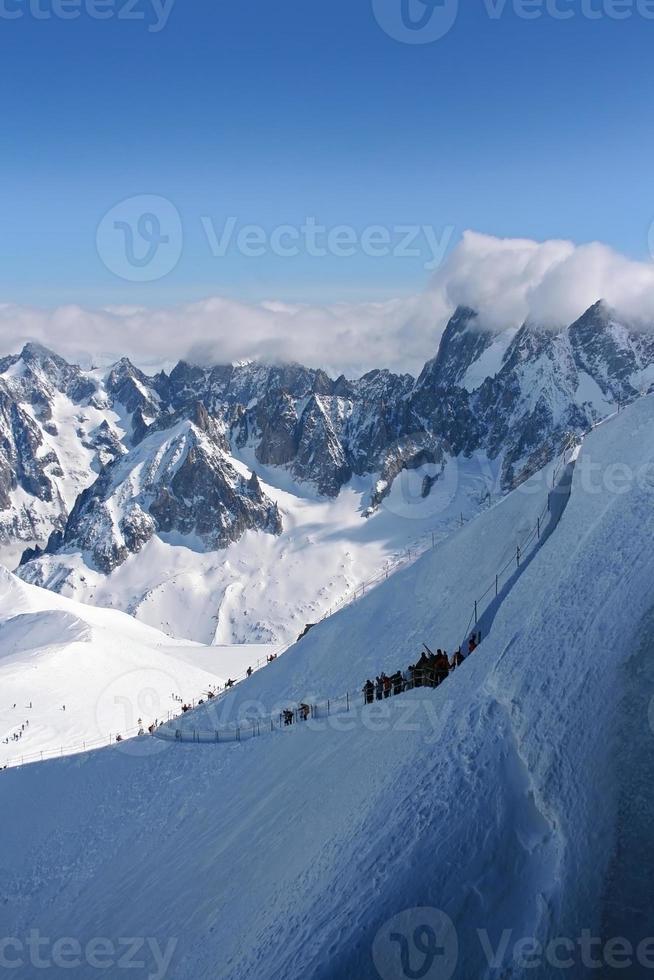Vallee Blanche, Chamonix photo