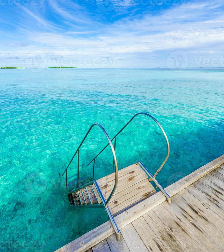 Sea swimming pool photo