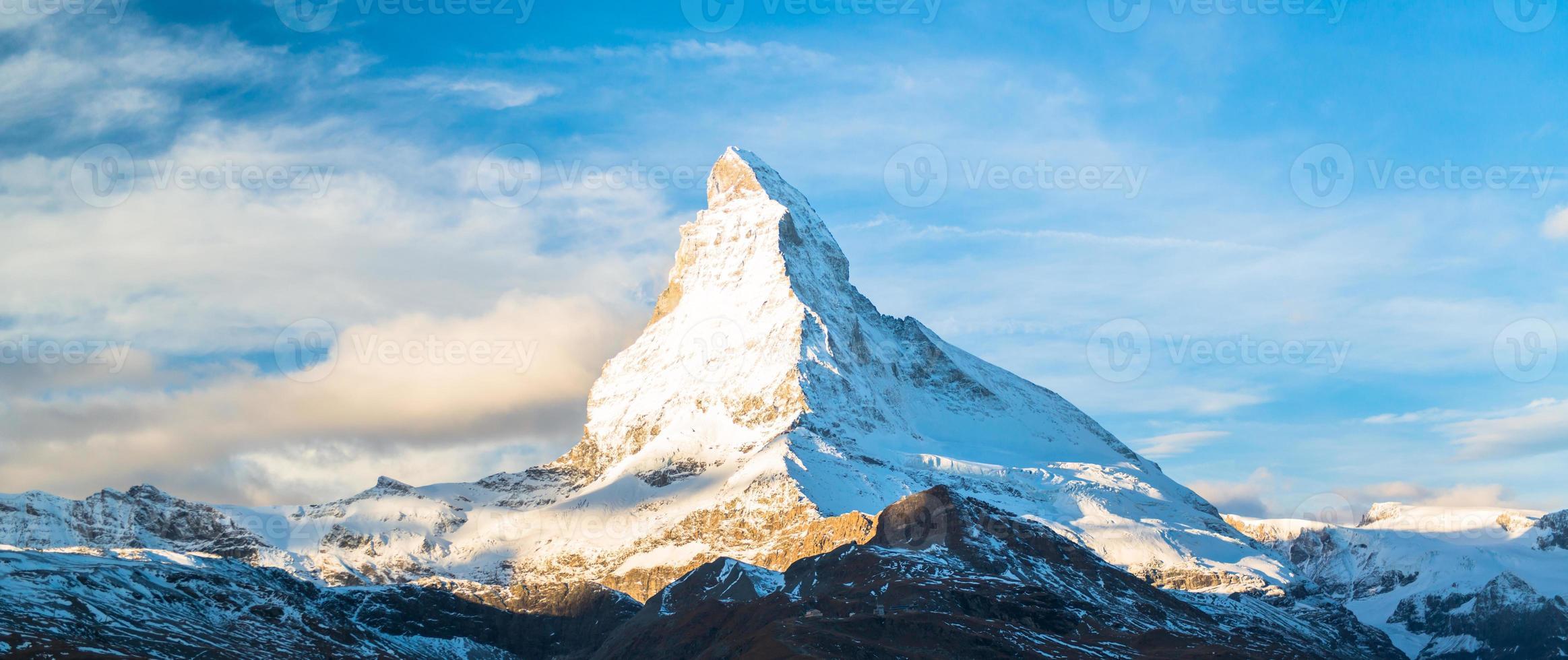 Matterhorn peak, Zermatt, Switzerland photo