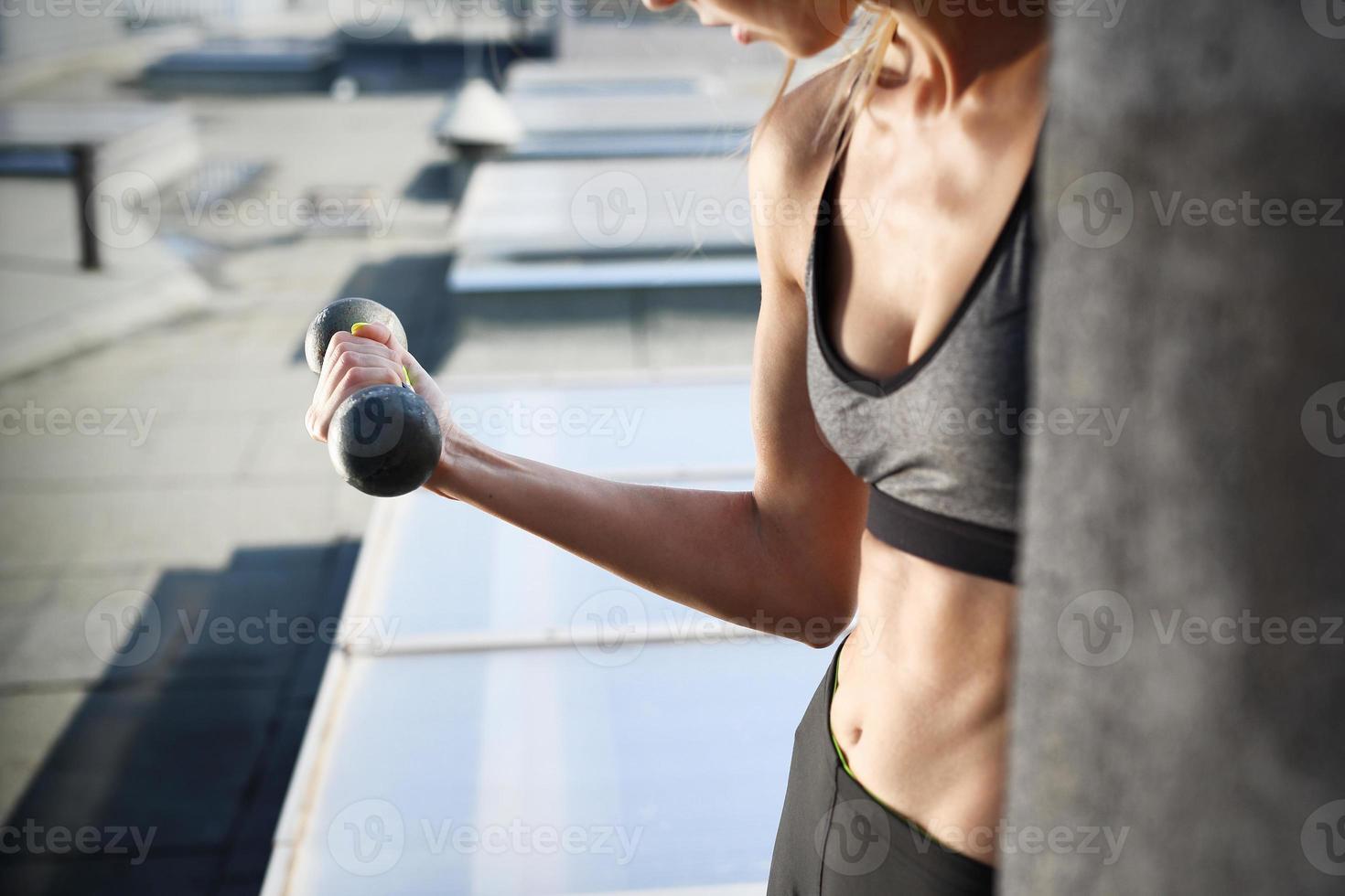 ejercicios de hombro foto