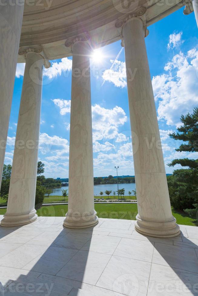 Thomas Jefferson memorial in Washington DC photo