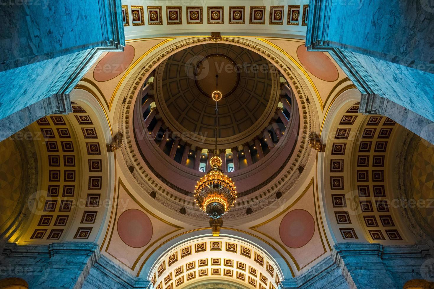 Rotonda del Capitolio - Olympia, Washington, EE. UU. foto